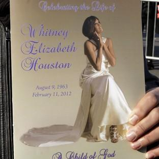 Whitney Houston is being laid to rest following Saturday's funeral service