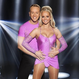 Jennifer Ellison was praised by the Dancing on Ice judges after returning from injury