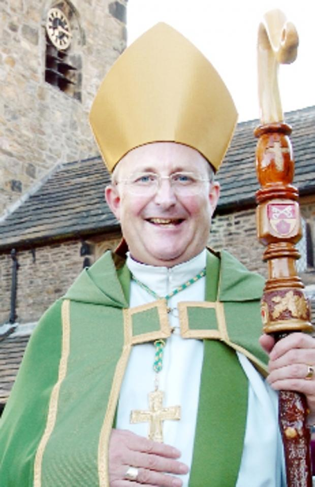Retiring Bishop of Blackburn The Rt Rev Nicholas Reade
