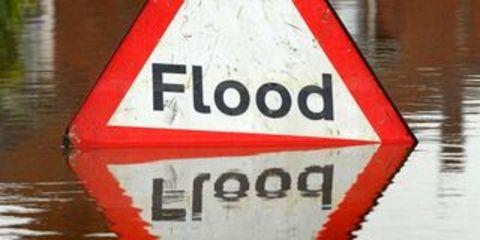 This Is Lancashire: Homes and shop flooded in Darwen for fourth time