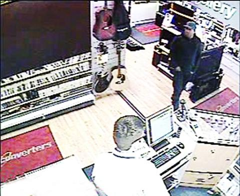 APPEAl Police have CCTV of man they want to talk to