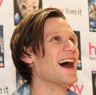 Matt Smith is to carry the Olympic flame through Cardiff