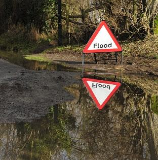 Experts are warning of floods as a month's rain is expected over 24 hours