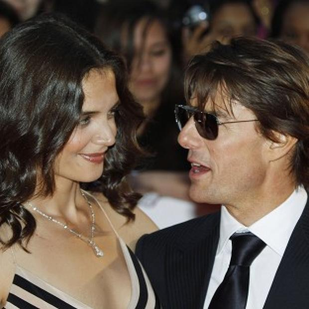 Katie Holmes suggested she wanted to focus on herself in a magazine interview