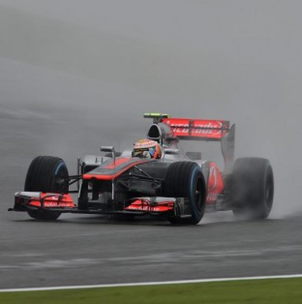 Lewis Hamilton topped the timesheet in second practice