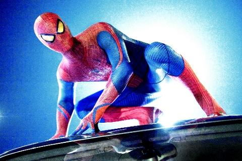 MARVEL Andrew Garfield is the comic book hero