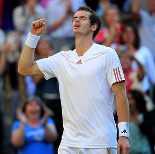 Andy Murray was visibly emotional after beating Jo-Wilfried Tsonga in the semi-final