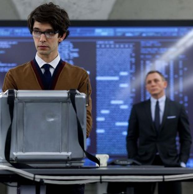 Ben Wishaw plays gadget man Q in the new James Bond film Skyfall
