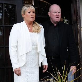 Steve McFadden and Letitia Dean love working together again