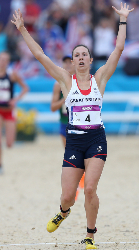Samantha Murray from Clitheroe secured a silver medal for modern pentathlon