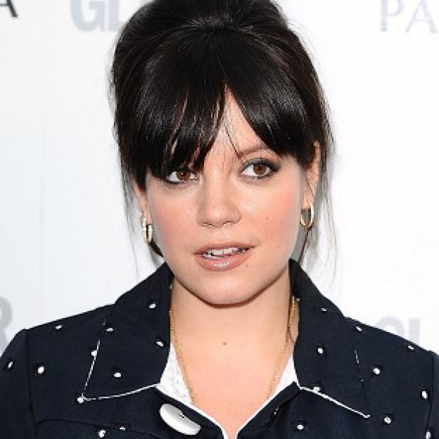 Lily Allen performed on stage with Pink
