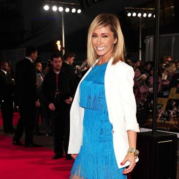 Jenny Frost has announced that she is pregnant with twins