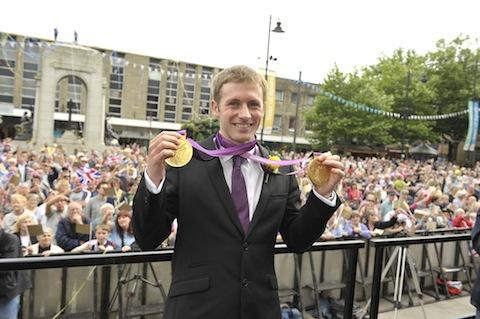 OBE honour for Jason Kenny