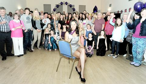Party joy for Clitheroe Olympic heroine Samantha Murray