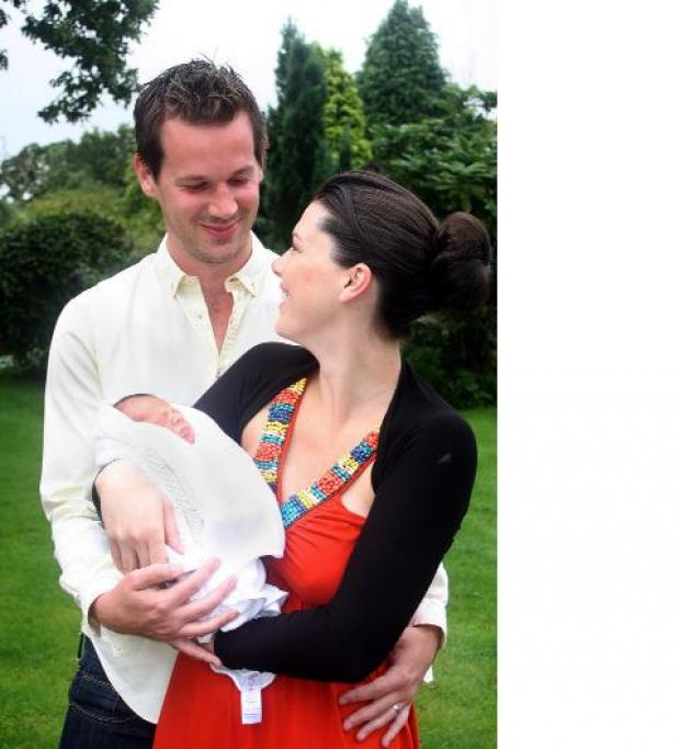 Ex-Apprentice star becomes a dad for the first time