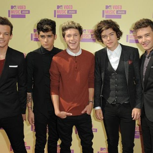 One Direction won best pop video at the MTV Video Music Awards in LA