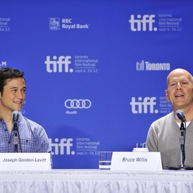 Joseph Gordon-Levitt said he learned a lot from hanging out with Bruce Willis