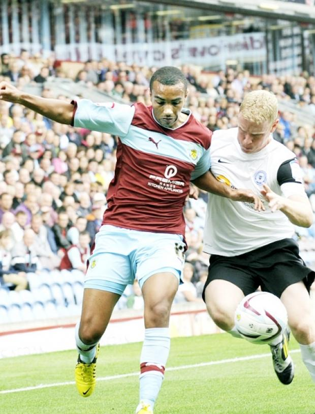 CONFIDENT Junior Stanislas is sure Burnley can go on a run