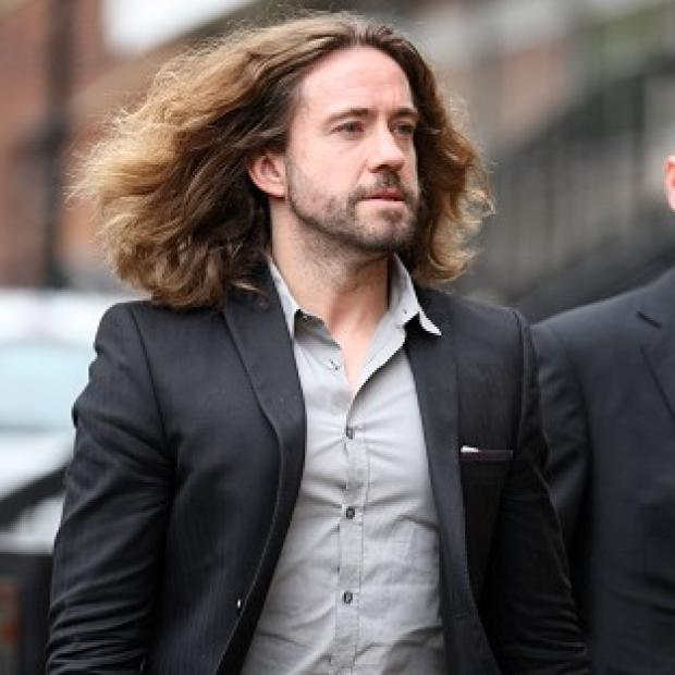 Justin Lee Collins denies harassing his ex-girlfriend Anna Larke