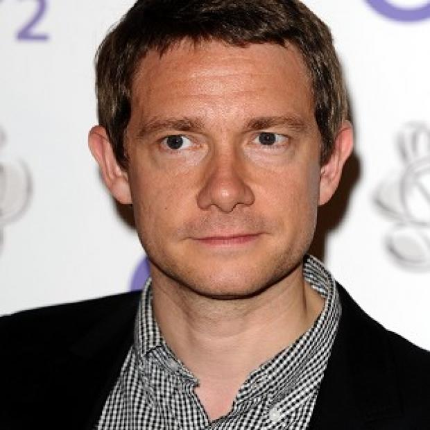 Martin Freeman plays Bilbo Baggins in The Hobbit films