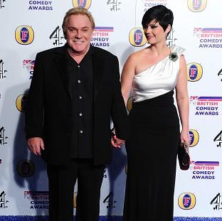 Freddie Starr, pictured with his fiancee Sophie Lee, has denied any wrongdoing
