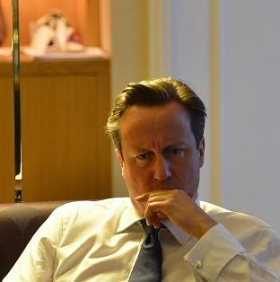 David Cameron is determined to stick to his Plan A of deficit reduction