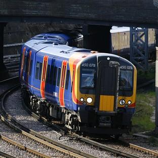 Some South West Trains services to and from Waterloo station were cancelled