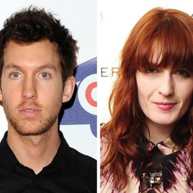 Calvin Harris and Florence Welch are topping the charts