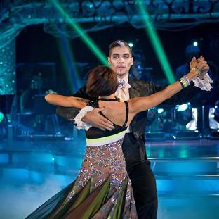 Louis Smith's Halloween routine pushed him to the top of the Strictly leaderboard (Guy Levi/BBC/PA Wire)