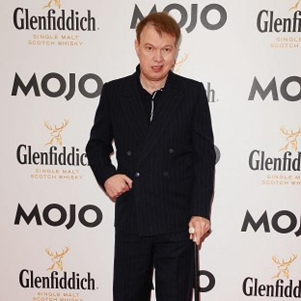 Edwyn Collins has been given an AIM award