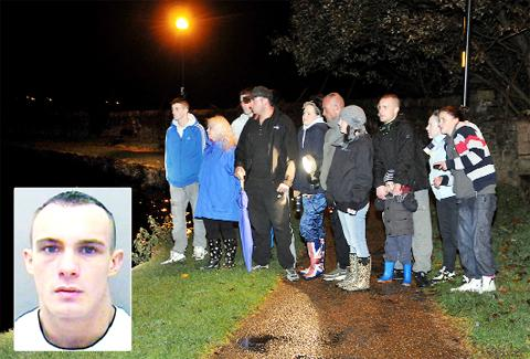 Family and friends join the hunt for David Young