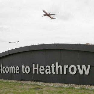 A man has been arrested at Heathrow Airport on suspicion of terror offences