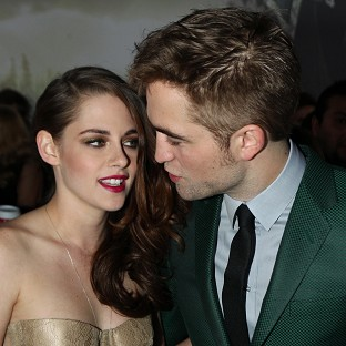 Kristen Stewart and Robert Pattinson stepped out together for the LA premiere of The Twilight Saga: Breaking Dawn Part II