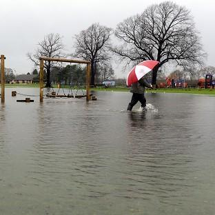 This Is Lancashire: Five flood warnings and 16 alerts have been issued for the whole of Wales