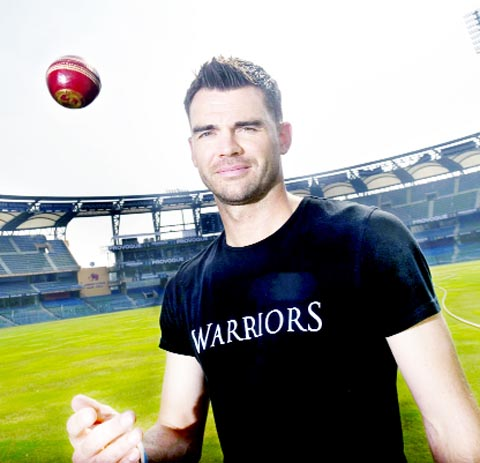 Burnley's England cricket ace James Anderson bowls over Maasai Warriors