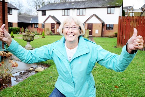 RELIEF Resident Pat Turner says that news of the work to prevent flooding will be welcomed by everyone on the estate