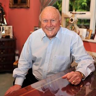 This Is Lancashire: Stuart Hall has been arrested over an allegation of rape and indecent assault