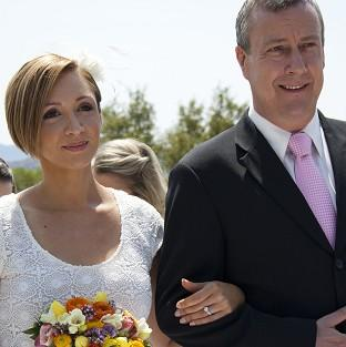 Lucy-Jo Hudson's character Rosie gets married in Wild At Heart
