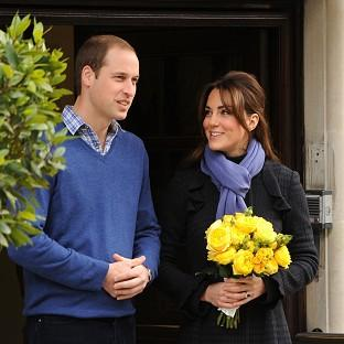 There had been rumours that Prince William and Catherine would attend the service after spending Christmas Day with her family