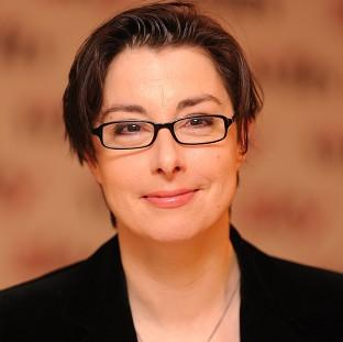 Sue Perkins' New Years resolution is to 'get scoffing'