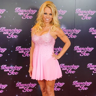 Pamela Anderson is getting her skates on for the new series of Dancing on Ice