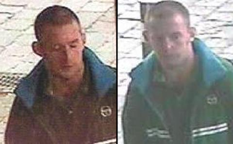 The CCTV images of the suspect