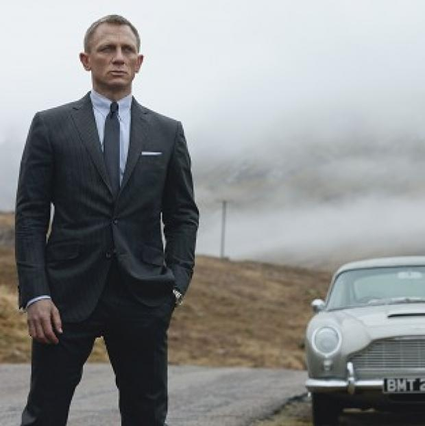 Daniel Craig stars as 007 in Skyfall