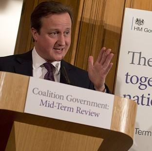This Is Lancashire: David Cameron at the launch the mid-term review