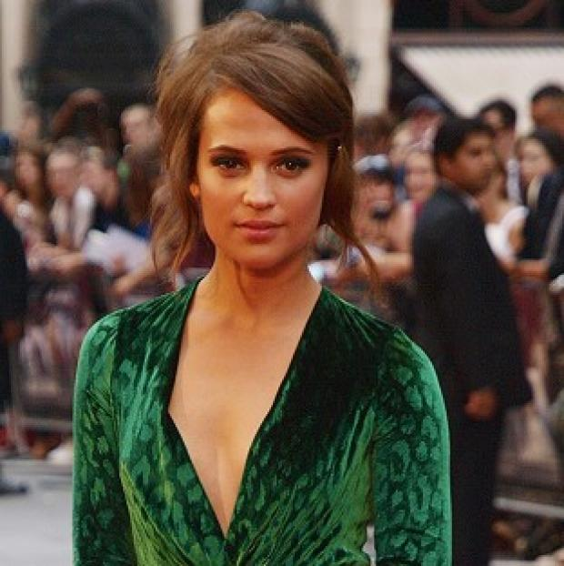 Swedish actress Alicia Vikander is nominated for the EE Bafta Rising Star Award