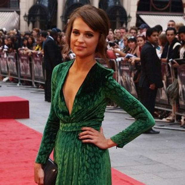 Swedish actress Alicia Vikander worked with Jeff Bridges on The Seventh Son