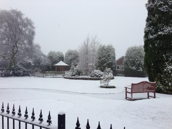 Weather latest: Snow falls across Bolton