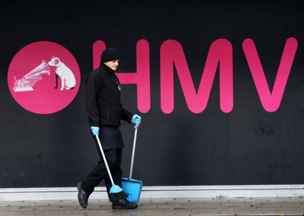 HMV to close Bolton store