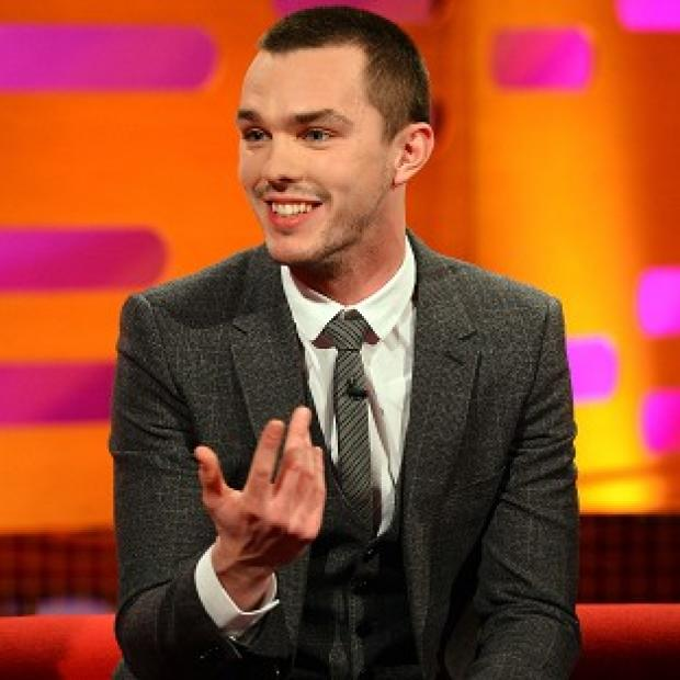Nicholas Hoult didn't worry about a back story for his zombie role
