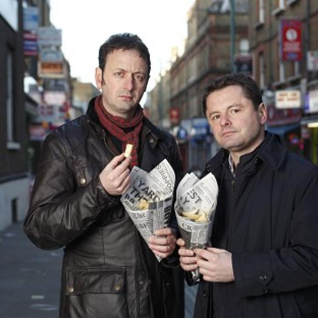 Matt Allwright and Chris Hollins present The Food Inspectors